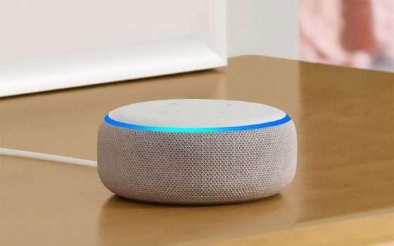 Echo Dot con Alexa a € 19,99 per il Black Friday