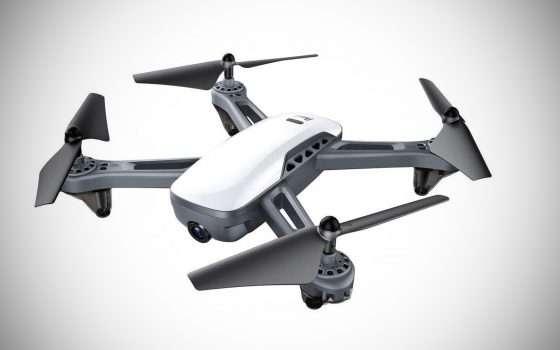 Un drone con GPS per riprese Full HD a 112 euro