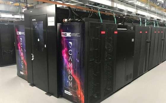 Il supercomputer Cannon è raffreddato a liquido