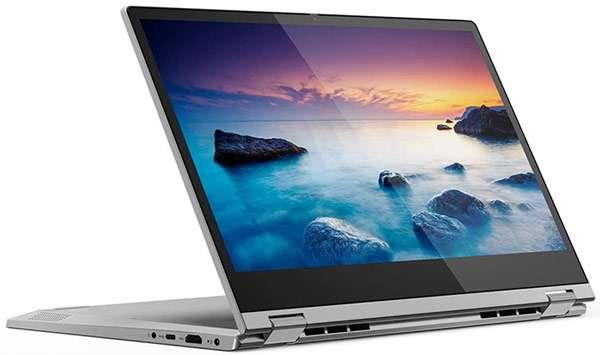 Il notebook Lenovo IdeaPad C340 con display touch da 14 pollici