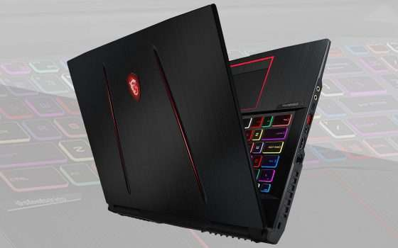 Il notebook gaming MSI in sconto nel Black Friday