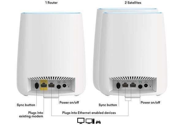 Il sistema WiFi Mesh di Netgear Orbi