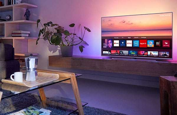 Philips 6800, TV 4K da 55 pollici con funzionalità smart