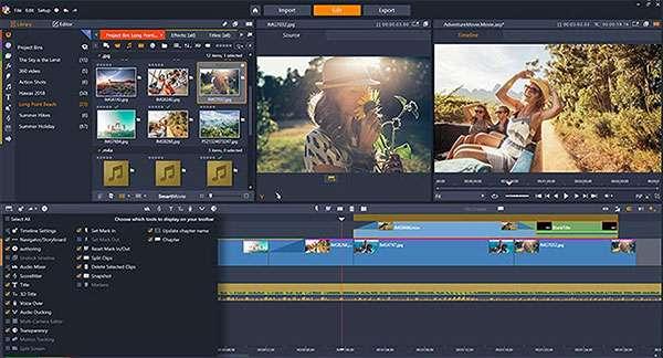 Il software Pinnacle Studio 23 per l'editing dei contenuti multimediali
