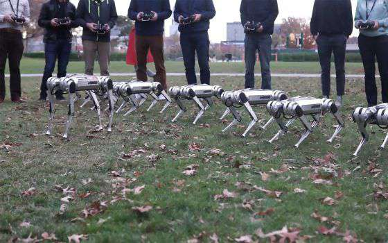 Il MIT porta i suoi robot Mini Cheetah al parco