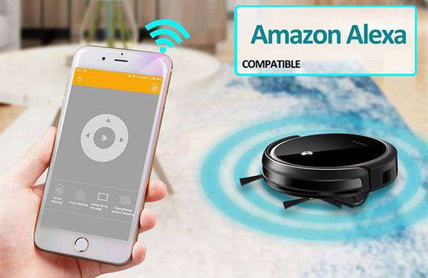 Robot Aspirapolvere con Alexa