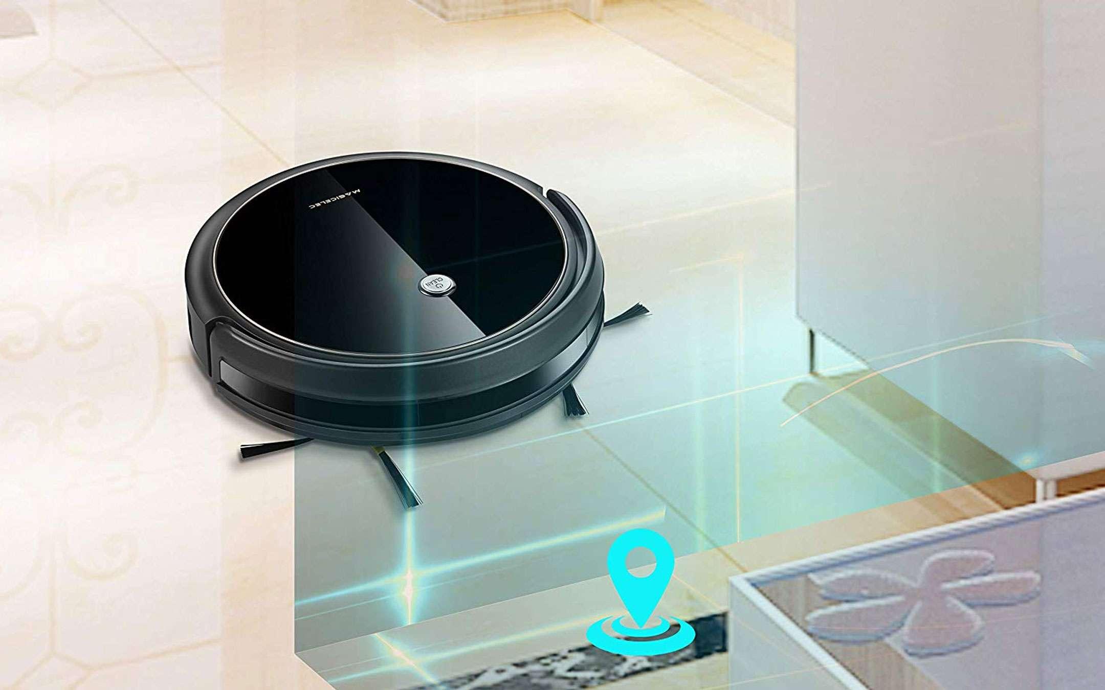 Amazon Tesori Nascosti: robot aspiratore con Alexa in offerta