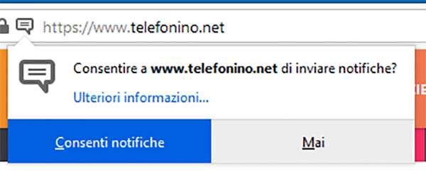 Firefox 70 e la gestione delle notifiche