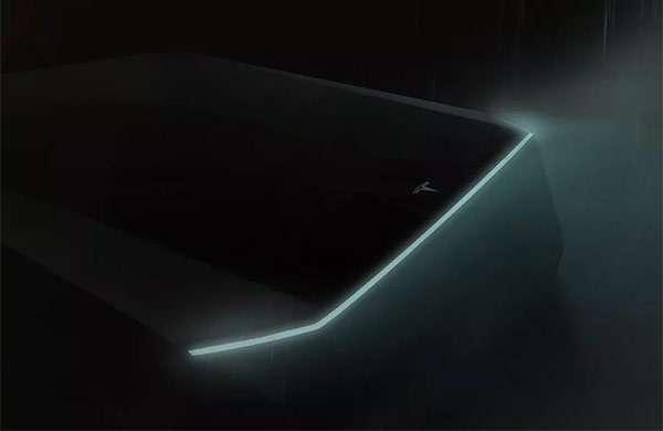 Tesla Cybertruck: un dettaglio del pick-up elettrico