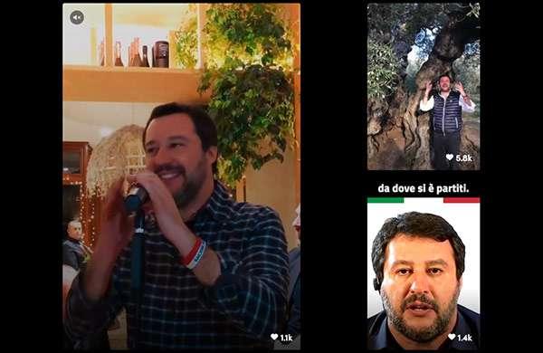 Matteo Salvini su TikTok