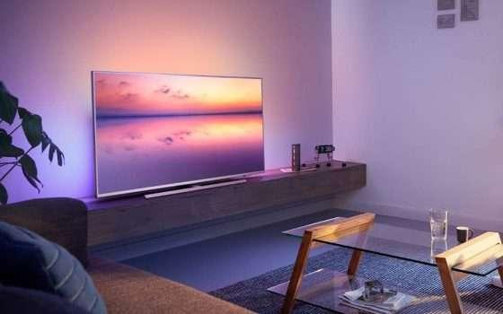 Black Friday Week: Philips 6800, TV 4K in offerta