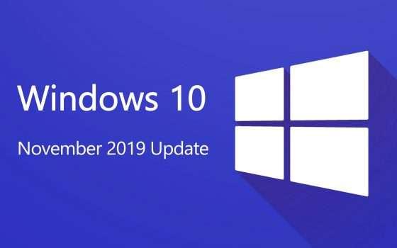 Windows 10 November 2019 Update: ci siamo quasi