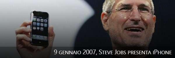 09/01/2007, Steve Jobs presenta iPhone