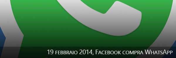 19/02/2014, Facebook compra WhatsApp