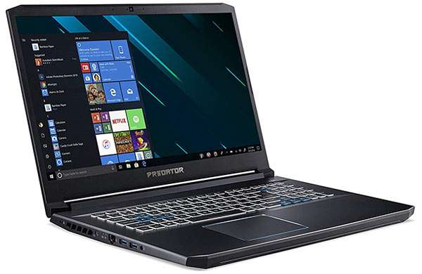 Il notebook Acer Predator Helios 300 per il gaming