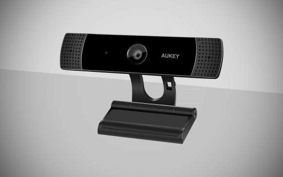Webcam Aukey 1080p in offerta su Amazon per Natale