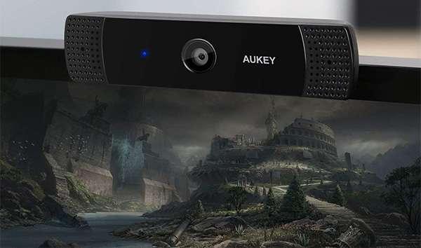 Aukey webcam 1080p per computer