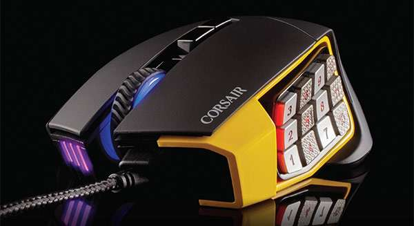 Il mouse Corsair Scimitar Pro per il gaming