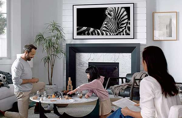 Il televisore Samsung The Frame
