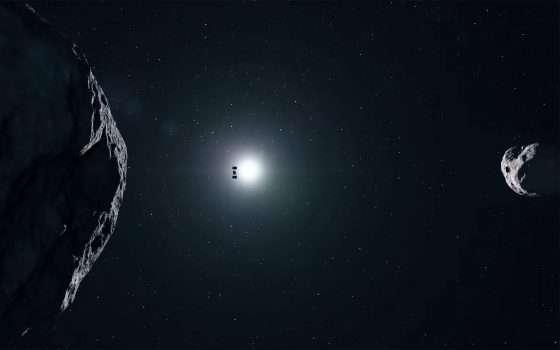 La missione Hera salverà la Terra dalle asteroidi