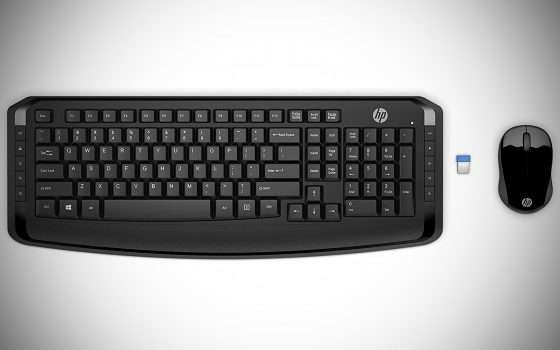 Cyber Monday: offerta tastiera e mouse wireless HP