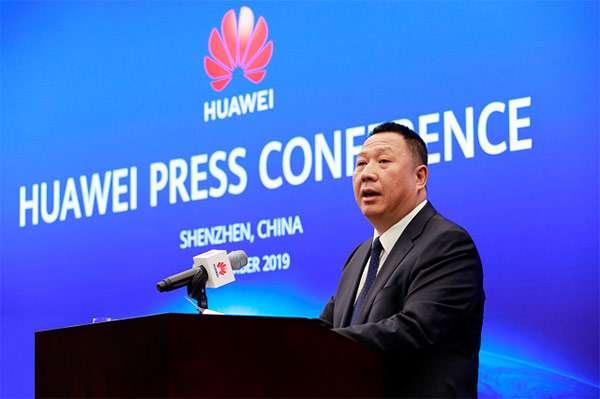 Song Liuping, Chief Legal Officer di Huawei, nel corso della conferenza andata in scena a Shenzhen