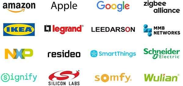 Le aziende che prendono parte al progetto Connected Home over IP