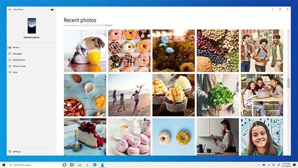 L'applicazione Il Tuo Telefono di Microsoft