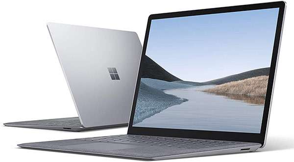 Il Surface Laptop 3 di Microsoft