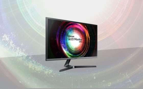 Cyber Monday: monitor Samsung 4K da 28'' in offerta