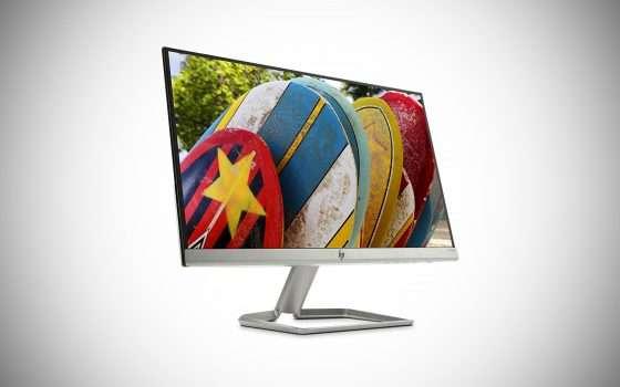 Monitor HP da 22 pollici in offerta a 89,99 euro