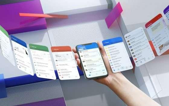 Restyling con Fluent Design per le app di Office