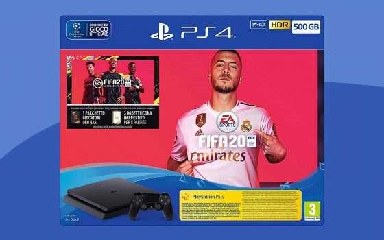 Aspettando PS5, la PS4 con FIFA 20 è in offerta