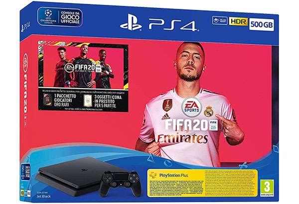 Il bundle con PS4 e FIFA 20 in sconto per il Cyber Monday di Amazon