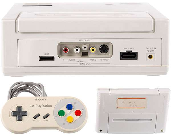 Il prototipo di Nintendo PlayStation messo all'asta
