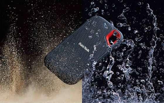 Cyber Monday: SanDisk SSD 2 TB portatile in sconto