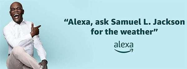 Samuel L Jackson per Alexa ed Echo