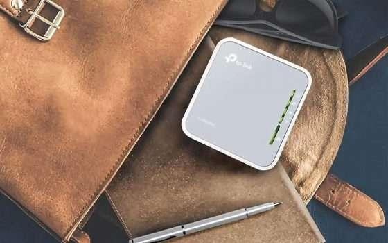 Il nano router TP-Link in offerta su Amazon