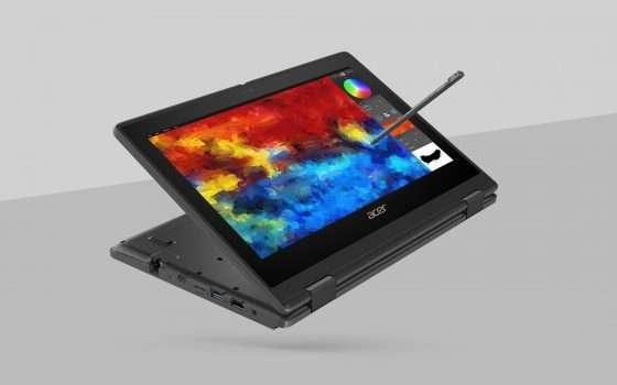 Acer TravelMate B3, Spin B3 e Chromebook 712