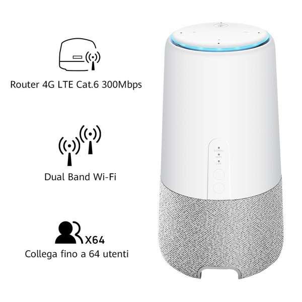 Huawei AI Cube: speaker e router, assieme