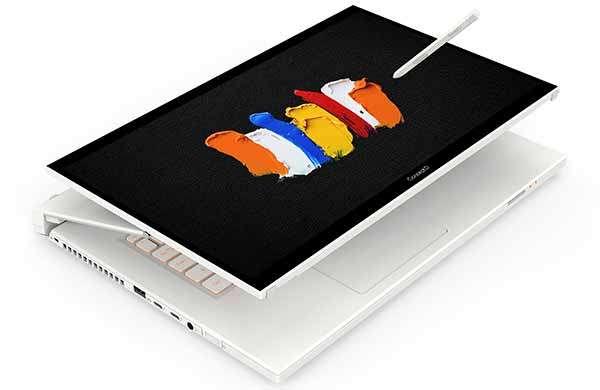 Acer ConceptD 7 Ezel, il modello RTX Studio