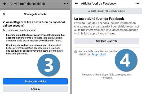 La tua attività fuori da Facebook: come funziona