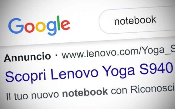 Ok Google, quella è una pubblicità o un risultato?