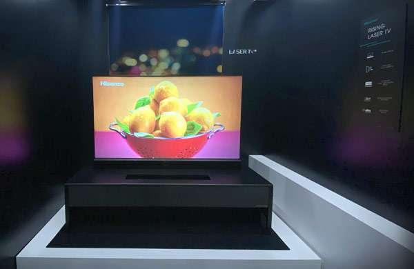 Hisense Self-rising Laser TV