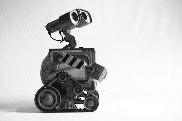 Io, Robotto: Wall-E ritratto da Valentino Candiani