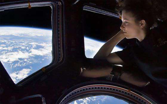In vacanza sulla Stazione Spaziale Internazionale