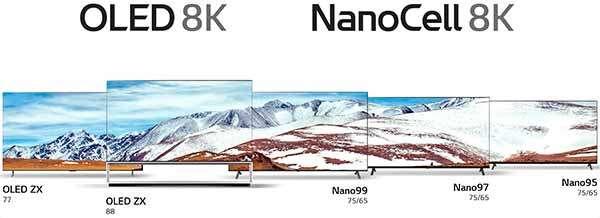 I televisori 8K di LG per il CES 2020