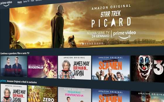 Prime Video: Amazon investe sugli show in Italia