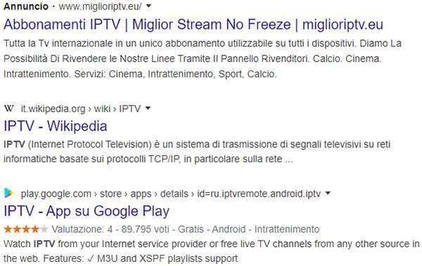 La nuova modalità di visualizzazione delle inserzioni pubblicitarie nelle SERP di Google su desktop