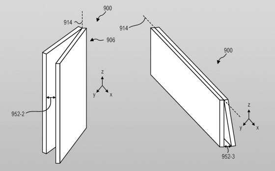 Un brevetto per la cerniera di Surface Neo e Duo